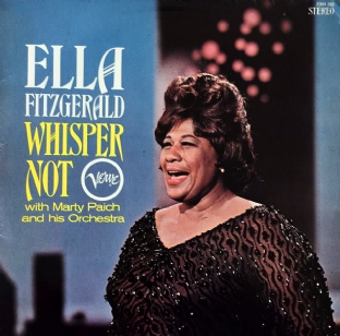 Ella Fitzgerald - Whisper Not (LP) (VG/G+)